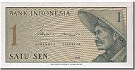 Indonesia 1 Sen Foreign Banknoten Indonesia, 1 Sen type 1964