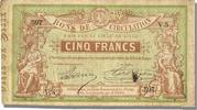 French Emergency of the 1870-1871 War 5 Francs 1870 Lille ss+ French Eme... 250,00 EUR