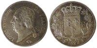 5 Francs 1822 A France Louis XVIII Louis XVIII EF(40-45)  190,00 EUR free shipping