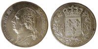 Semi Moderns (1805-1899) 5 Francs 1823 Paris unz- French Moderns Frankre... 385.63 US$
