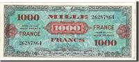 1000 Francs 1945 France  AU(55-58)  350,00 EUR gratis verzending