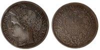 5 Francs 1849 BB Frankreich Cérès EF(40-45)  150,00 EUR