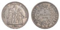 5 Francs 1878 K France Hercule AU(55-58)  380.23 US$ 350,00 EUR  +  10.86 US$ shipping