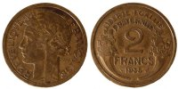Moderns (1900-1958) 2 Francs 1935 ss French Moderns Frankreich IIIRd Rep... 60,00 EUR