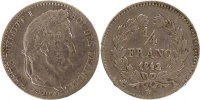 Semi Moderns (1805-1899) 1/4 Franc 1842 Paris ss French Moderns Frankrei... 65,00 EUR