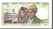 5000 Francs 1984 Comoros  UNC(65-70)  200,00 EUR