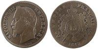 2 Francs 1867 K France Napoléon III Napoleon III VF(30-35)  85,00 EUR  +  10,00 EUR shipping