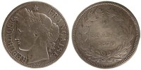 Semi Moderns (1805-1899) 2 Francs 1870 Paris s French Moderns Frankreich... 175,00 EUR