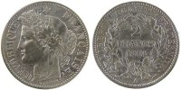 Semi Moderns (1805-1899) 2 Francs 1894 Paris ss French Moderns Frankreic... 110,00 EUR