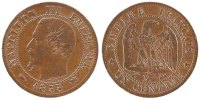 Centime 1855 D France Napoléon III Napoleon III AU(50-53)  150,00 EUR envoi gratuit