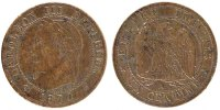 Semi Moderns (1805-1899) 1 Centime 1870 Paris ss+ French Moderns Frankre... 110,00 EUR