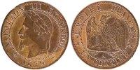 Centime 1870 A France Napoléon III Napoleon III AU(50-53)  110,00 EUR  +  10,00 EUR shipping