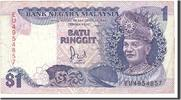 1 Ringgit 1967 Malaysia Undated, KM:27A, S S  6,00 EUR  zzgl. 10,00 EUR Versand