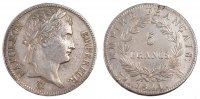 Semi Moderns (1805-1899) 5 Francs 1811 Toulouse ss+ French Moderns Frank... 350,00 EUR