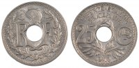 25 Centimes 1916 France Lindauer MS(60-62)  170,00 EUR free shipping