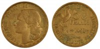Moderns (1900-1958) 50 Francs 1958 ss French Moderns Frankreich IVth Rep... 12996 руб