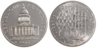 Fifth Republic (1959-2001) 100 Francs 1987 PROOF French Moderns Frankrei... 130,00 EUR
