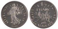 1/2 Franc 1993 France Semeuse MS(65-70)  75,00 EUR  +  10,00 EUR shipping
