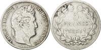 5 Francs 1831 W France Louis-Philippe VF(20-25)  65,00 EUR  excl. 10,00 EUR verzending