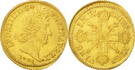 2 Louis D'or 1701 A France Double louis d'or aux 8 L et aux insignes Lo... 511720 руб 8000,00 EUR  +  640 руб shipping