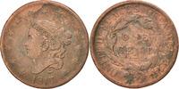 Cent 1817 U.S. Mint Vereinigte Staaten Coronet Cent VF(30-35)  60,00 EUR  zzgl. 10,00 EUR Versand