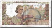 10,000 Francs 1951 Frankreich  EF(40-45)  180,00 EUR