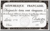 250 Livres 1793 Frankreich  UNC(60-62)  160,00 EUR kostenloser Versand