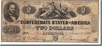 2 Dollars 1862 Confederate States of America  VF(30-35)  480,00 EUR