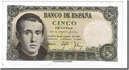 Spain 5 Pesetas Foreign Banknoten Spain, 5 Pesetas type Balmes