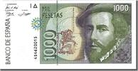 Spain 1000 Pesetas Foreign Banknoten Spain, 1000 Pesetas type Cortes