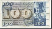 100 Franken 1956 Switzerland  VF(30-35)  65,00 EUR