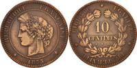 10 Centimes 1875 K Frankreich Cérès VF(20-25)  90,00 EUR  zzgl. 10,00 EUR Versand