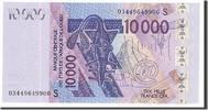 10,000 Francs 2003 West African States  UNC(65-70)  60,00 EUR  zzgl. 10,00 EUR Versand