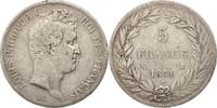 5 Francs 1831 K Frankreich Louis-Philippe VF(20-25)  65,00 EUR  +  10,00 EUR shipping