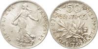50 Centimes 1908 Paris Frankreich Semeuse MS(60-62)  4756 руб 70,00 EUR  +  679 руб shipping