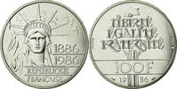 Fifth Republic (1959-2001) 100 Francs French Moderns Frankreich Vth Republic, 100 Francs Liberty Piefort Silver