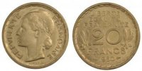 Essais 20 Francs 1950 PROOF IVth Republic, 20 Francs competition of Morl... 100,00 EUR