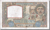 « Banque De France » 20 Francs 1939 VF+ French Banknoten Frankreich 20 F... 264.01 US$