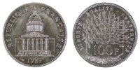 Fifth Republic (1959-2001) 100 Francs French Moderns Frankreich V Th Republic, 100 Francs Pantheon