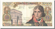 Banque De France  10 000 Francs French Banknoten Frankreich 10 000 Francs type Bonaparte