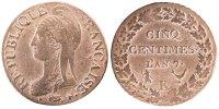 5 Centimes 1799 K France Dupré EF(40-45)  120,00 EUR  + 6,00 EUR frais d'envoi