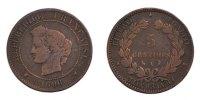 5 Centimes 1896 A France Cérès VF(30-35)  350,00 EUR Gratis verzending