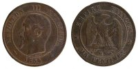 Semi Moderns (1805-1899) 10 Centimes 1854 Strasbourg ss+ French Moderns ... 60,00 EUR