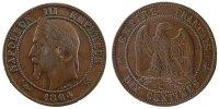 10 Centimes 1864 K France Napoléon III Napoleon III AU(50-53)  70,00 EUR  excl. 10,00 EUR verzending