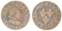 French Royal Double Tournois 1621 Paris ss Royal French coins Frankreich... 60,00 EUR