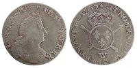 1/2 ECU, 43 Sols 1702 W France 1/2 Écu aux insignes, buste du type aux ... 215,00 EUR free shipping