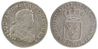 French Royal 1/3 Ecu 1721 Rouen ss+ Royal French coins Frankreich Königr... 250,00 EUR