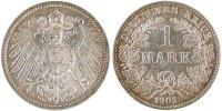 Mark 1907 A GERMANY - EMPIRE Wilhelm II MS(60-62)  100,00 EUR  Excl. 10,00 EUR Verzending