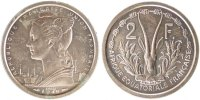 2 Francs 1948 (a) French Equatorial Africa  MS(65-70)  60,00 EUR  +  10,00 EUR shipping