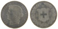 5 Francs 1890 B Switzerland  AU(50-53)  13675 руб 190,00 EUR  +  720 руб shipping
